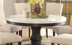 Nolan Round Pedestal Dining Tables