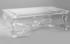 Stately Acrylic Coffee Tables