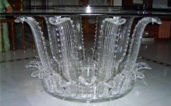 Acrylic Round Dining Tables