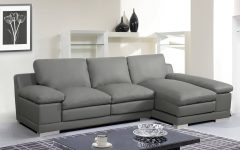 Florence Mid Century Modern Right Sectional Sofas Cognac Tan