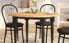 Katarina Extendable Rubberwood Solid Wood Dining Tables