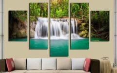Moving Waterfall Wall Art