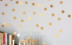 Gold Wall Art Stickers
