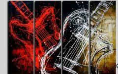 Guitar Canvas Wall Art