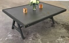 Waxed Metal Coffee Tables