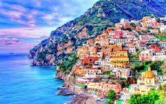Italian Coast Wall Art