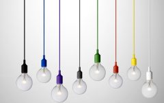 Bare Bulb Hanging Pendant Lights
