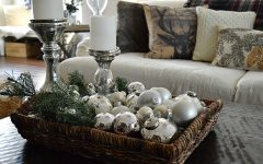 Rustic Christmas Coffee Table Decors
