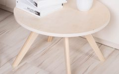 Round Beech Coffee Tables