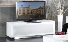 Modern White Lacquer TV Stands