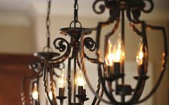 Wrought Iron Pendant Lights