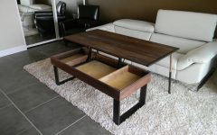 Pop Up Top Coffee Tables