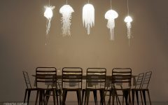 Jellyfish Inspired Pendant Lights