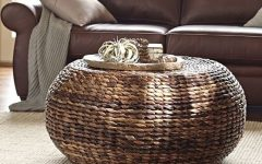 Round Woven Coffee Tables