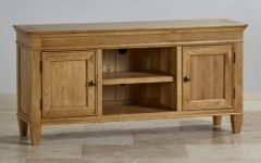 Light Oak Corner TV Cabinets