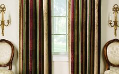 Striped Thermal Curtains