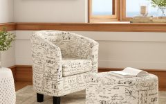 Louisiana Barrel Chairs and Ottoman