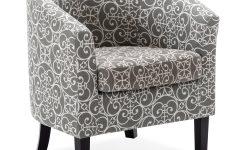 Munson Linen Barrel Chairs