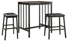 Anette 3 Piece Counter Height Dining Sets