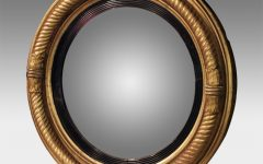 Round Convex Wall Mirror