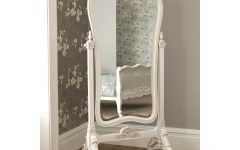 French Floor Standing Mirror