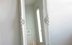 Antique Long Mirror