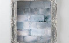 Grey Vintage Mirror