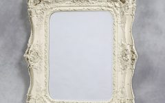 Cream Antique Mirror
