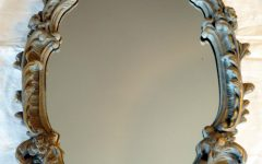 Ornate Antique Mirrors