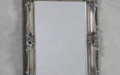 Antique Silver Mirror