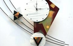 Abstract Clock Wall Art