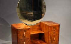 Art Nouveau Dressing Table Mirror