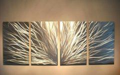 Contemporary Large Oak Tree Metal Wall Art