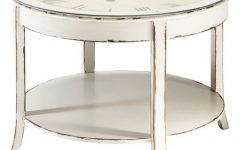 Clock Coffee Tables Round Shaped