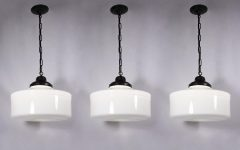 Milk Glass Pendant Lights