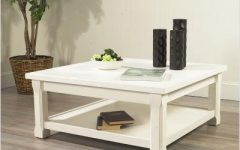 Square White Coffee Tables
