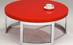 Red Round Coffee Tables