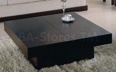 Square Black Coffee Tables
