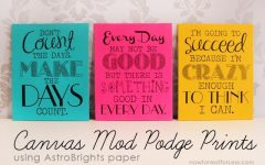 Inspirational Quotes Canvas Wall Art