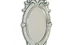 Venetian Oval Mirror
