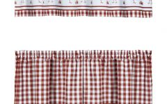 Barnyard Window Curtain Tier Pair and Valance Sets