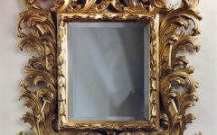 Small Baroque Mirror