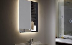 Light Up Bathroom Mirrors
