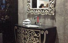 Ornate Bathroom Mirrors