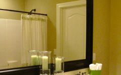Bathroom Mirror Wooden Frame Paint Ideas