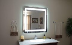 Magnifying Vanity Mirrors for Bathroom