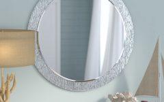 Point Reyes Molten Round Wall Mirrors