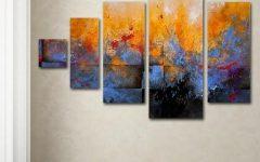 Kohls 5 Piece Canvas Wall Art