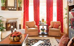 Beautiful Curtain for Classic Living Room