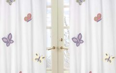 Purple Curtains for Kids Room